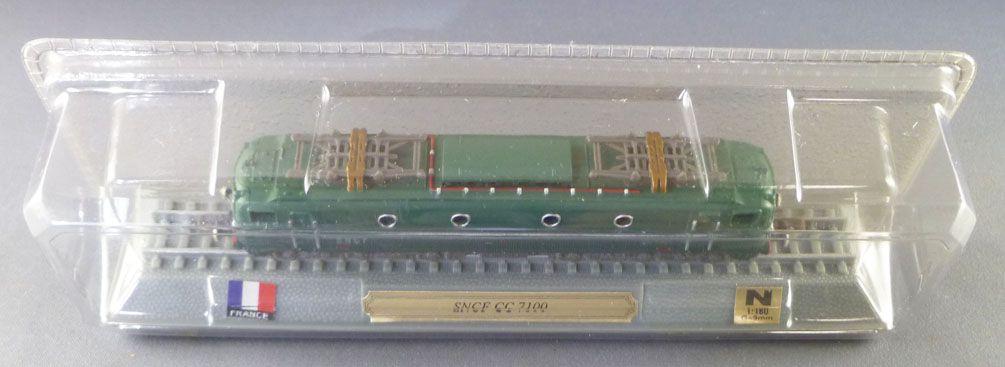 Del Prado Ech N Sncf Locomotive Electrique CC 7121 Non Motorisé Neuf Boite