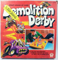 Demolition Derby La Folle Bagnole - Jeu d\'adresse - Keith Design 1979