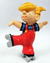 Dennis the Menace - Maia & Borges 1986 pvc figure - Dennis on rollerskates