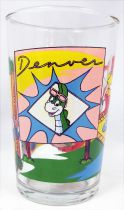 Denver the Last Dinosaur - Amora drinking glass - Denver, Jérémy & Wally