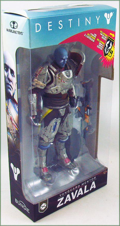 "Destiny 2  - McFarlane Toys - Vanguard Mentor Zavala - 6\"" scale action-figure"