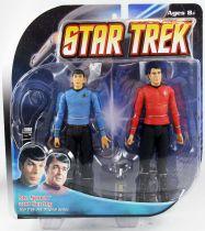 Diamond Select - Star Trek The Original Series - Mr. Spock & Scotty - Figurines 17cm