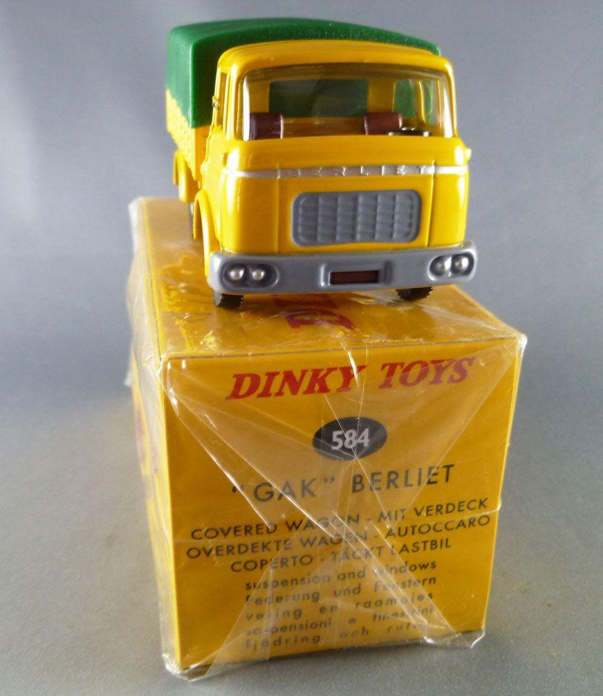 584 Boite neuve Dinky Toys  BERLIET GAK BACHE réf
