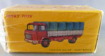 Dinky Toys Atlas 584 Yellow Berliet Gak Covered Truck with Tailboard Mint in Box