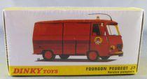 Dinky Toys Atlas Red Peugeot J7 Van Fireman Mint in Box