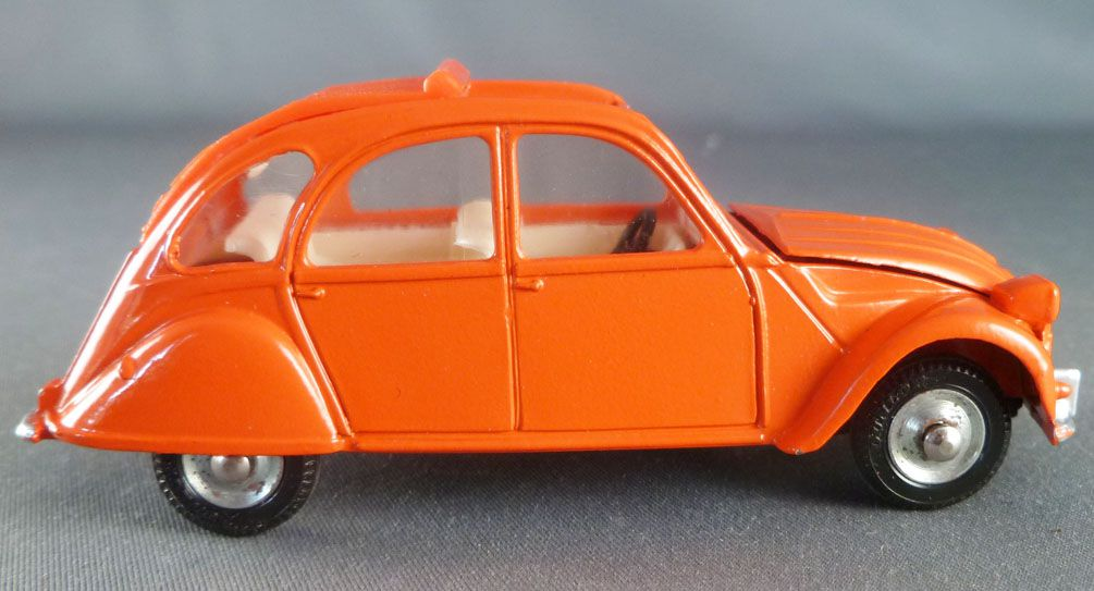 Dinky Toys Espagne 500 Citroën 2cv Orange Neuve Boite