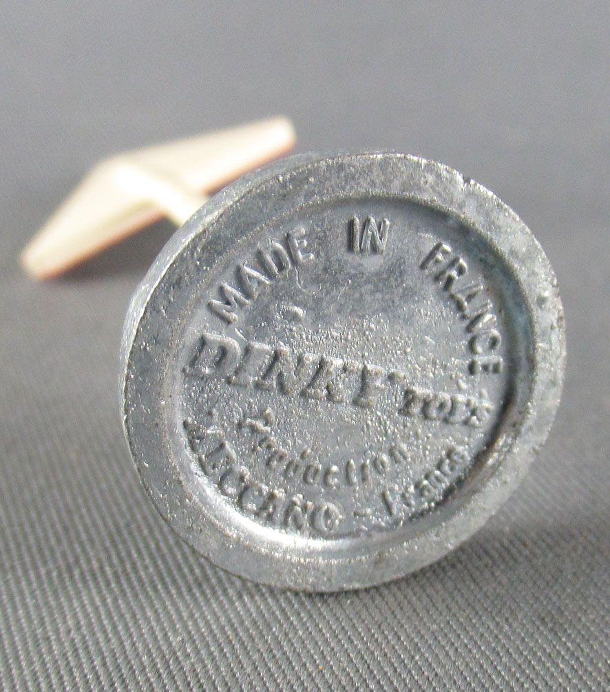 Dinky Toys France 1422 Panneau Signalisation Rétrécissement Chaussée à Droite pour Ferrari F1 100% d\'origine