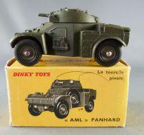 Dinky Toys France 814 Militaire Aml Panhard Auto Mitrailleuse Légère en Boite