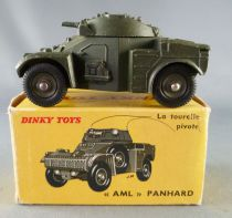 Dinky Toys France 814 Military Panhard Armoured Car Boxed