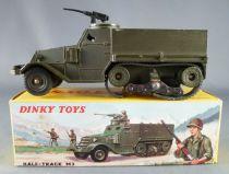 Dinky Toys France 822 Militaire Half-Track M3 avec Mitrailleuse en Boite