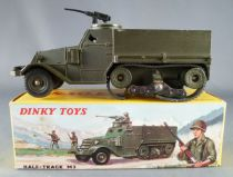 Dinky Toys France 822 Military Half-Track M3 with Machine Gun Boxed