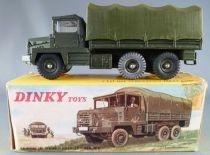Dinky Toys France 824 Militaire Camion Berliet Gazelle Baché  en Boite