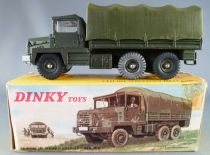 Dinky Toys France 824 Military Berliet Gazelle Army Truck Boxed