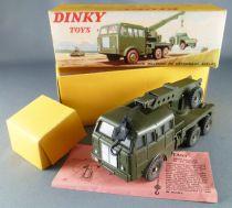 Dinky Toys France 826 Militaire Camion de Dépannage Berliet Boite Encart Notice
