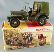 Dinky Toys France 828 Militaire Jeep Porte-Fusées SS10 Complète en Boite