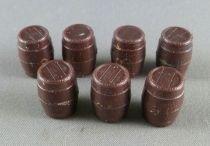 Dinky Toys France 847 7 Tonneaux Marron 100% d\'origine Pas repro