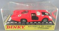 Dinky Toys GB 210 Alfa Romeo 33 Tipo Le Mans Rouge Orange Neuve Boite 3