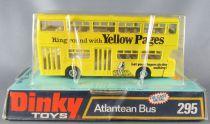 Dinky Toys GB 295 Bus Atlantean Yellow Pages Jaune Neuf Boite 1