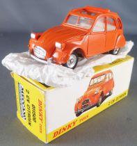Dinky Toys Spain 500 Orange Citroën 2cv Mint in Box