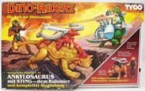 Dino Riders - Ankylosaurus avec Sting - Tyco Allemagne