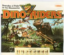 Dino Riders - Poster/Catalogue Promotionnel  - Comansi Espagne