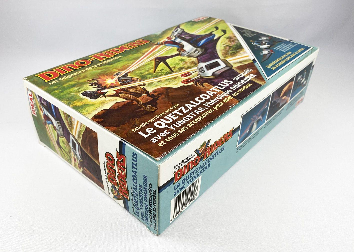Dino-Riders - Quetzalcoatlus avec Yungstar - Ideal France