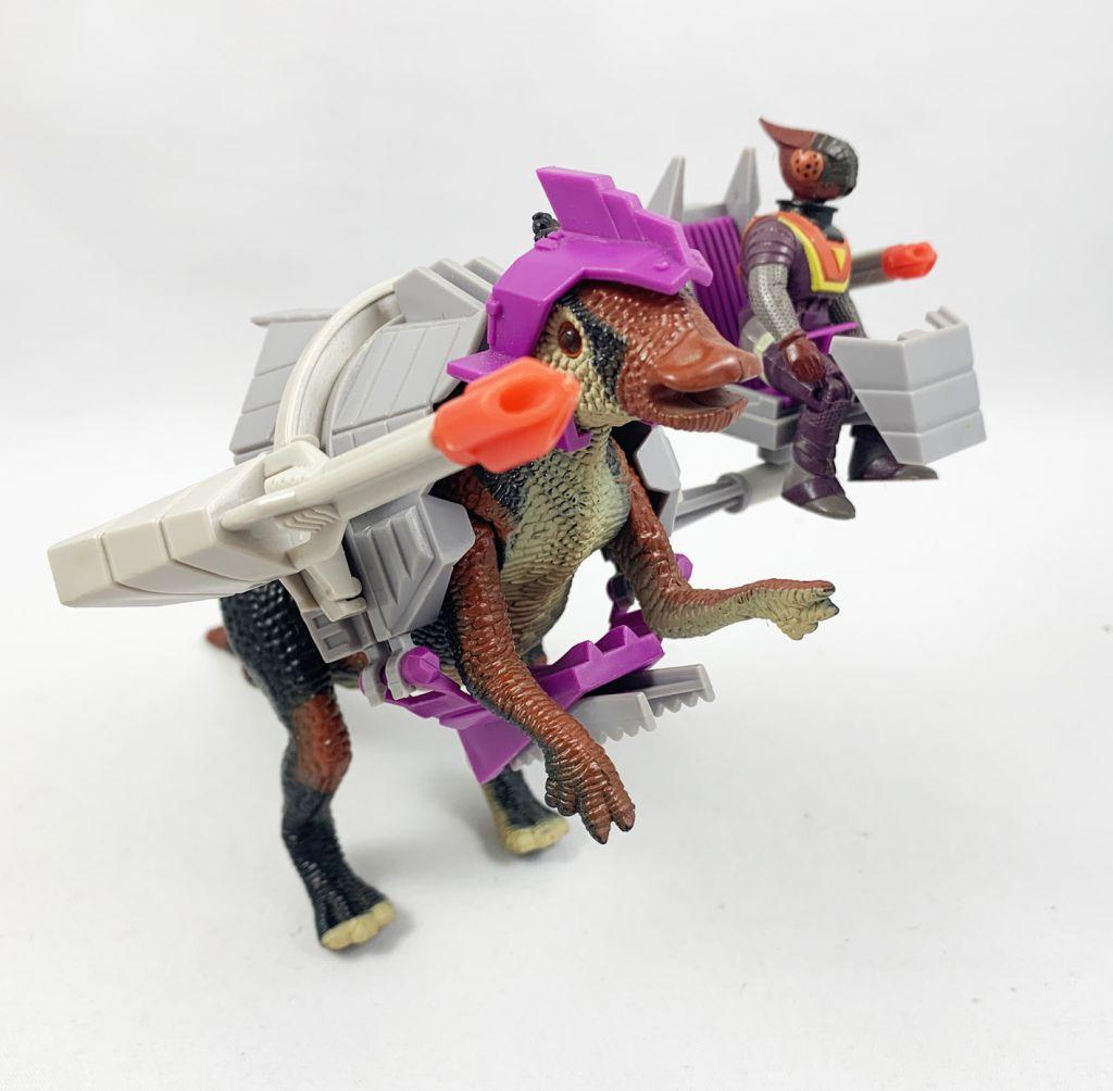 Dino Riders - Saurolophus avec Lokus (loose)