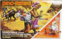Dino Riders - Saurolophus with Lokus - Ideal France