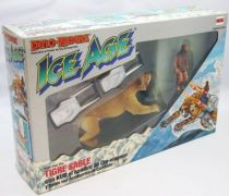 Dino Riders Ice Age - Sabretooth Tiger with Kub - Comansi Spain