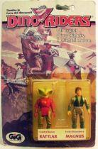 Dino Riders series 1- Rattlar & Magnus - GIG