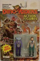 Dino Riders Series 2 - Dedeye & Yungstar - Tyco