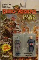 Dino Riders Series 2 - Sludj & Mind-Zei - Tyco