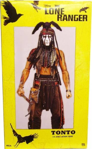 Disney\'s The Lone Ranger - Tonto - Figurine echelle 1/4 - NECA