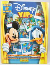 Disney VIPs Mickey & Donald - Album collecteur de vignettes Panini 2005