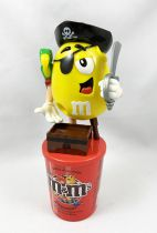 Distributeur de bonbons M&M\'s - Jaune Pirate