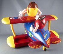 Distributeur de bonbons M&M\'s - Rouge et Jaune en avion