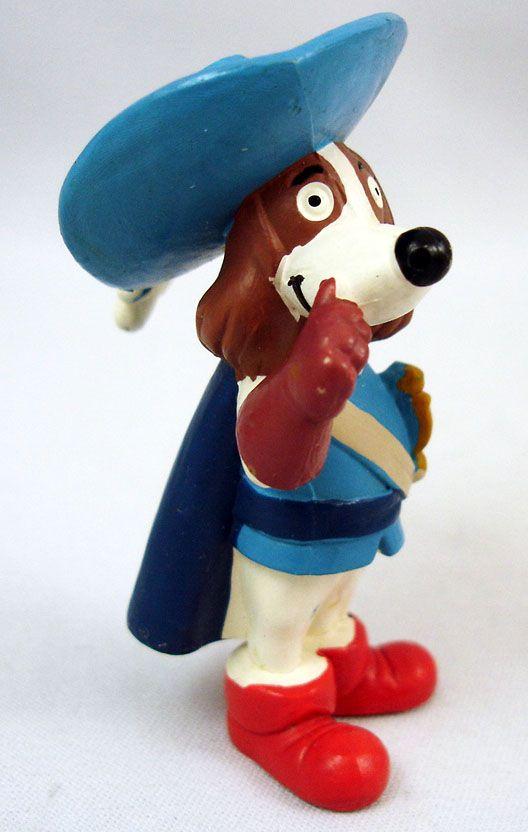 Dogtanian And The Three Muskehounds - Disvenda Pvc Figures set - Dogtanian, Athos, Porthos, Aramis, Juliette.