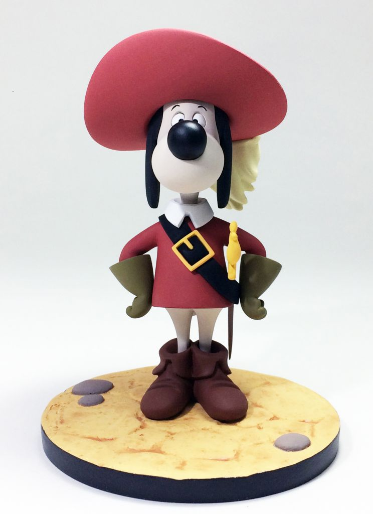 "Dogtanian And The Three Muskehounds - Dogtanian 5"" resin statue - Fariboles"