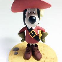 """Dogtanian And The Three Muskehounds - Dogtanian 5\"""" resin statue - Fariboles"""