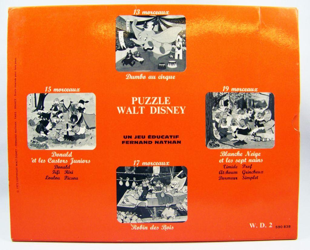 Donald et les Castors Juniors - Jeu éducatif Fernand Nathan (Puzzle) 02