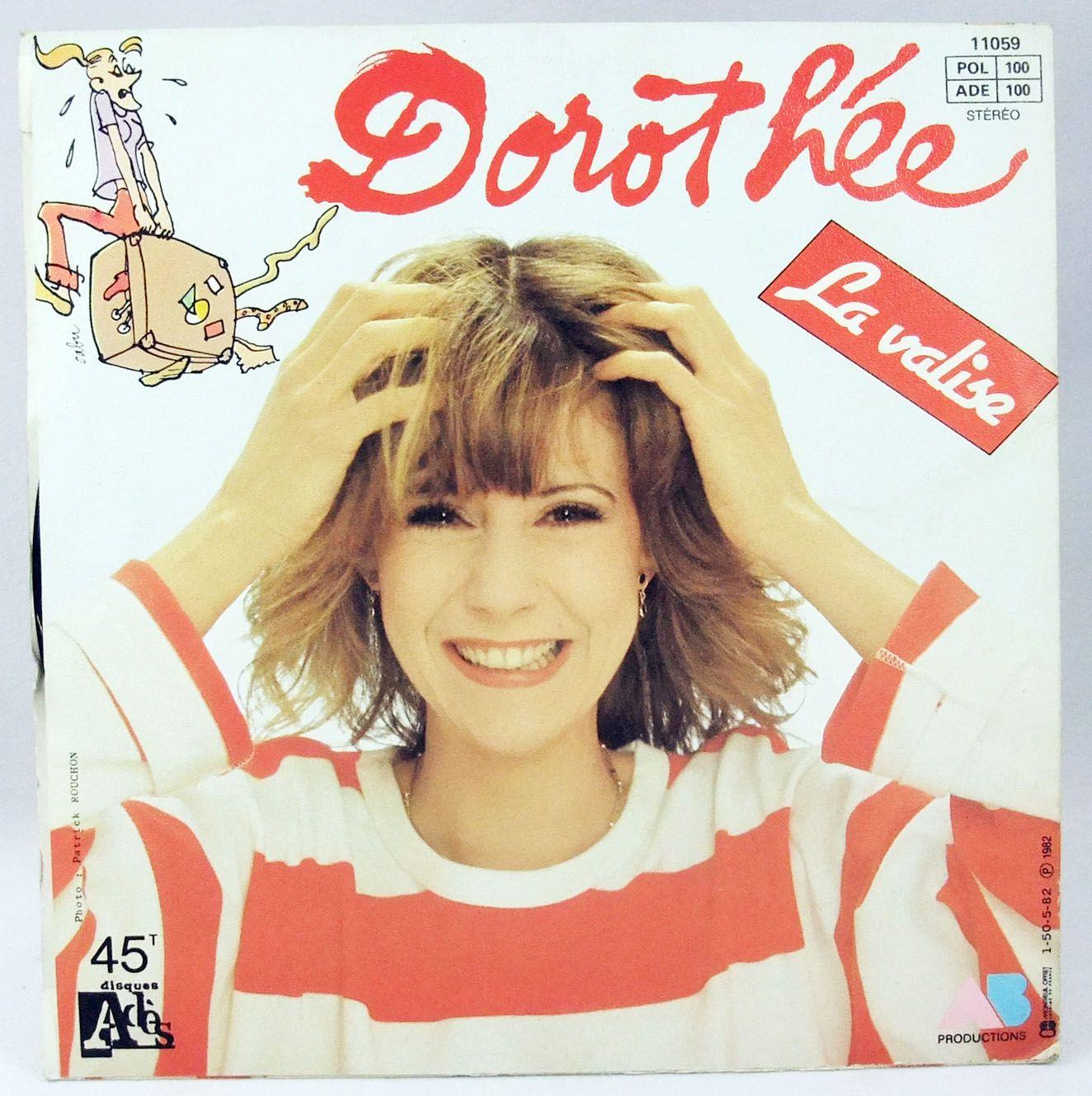 Dorothée - Hou! la menteuse - Disque 45Tours - Ades AB Productions 1982