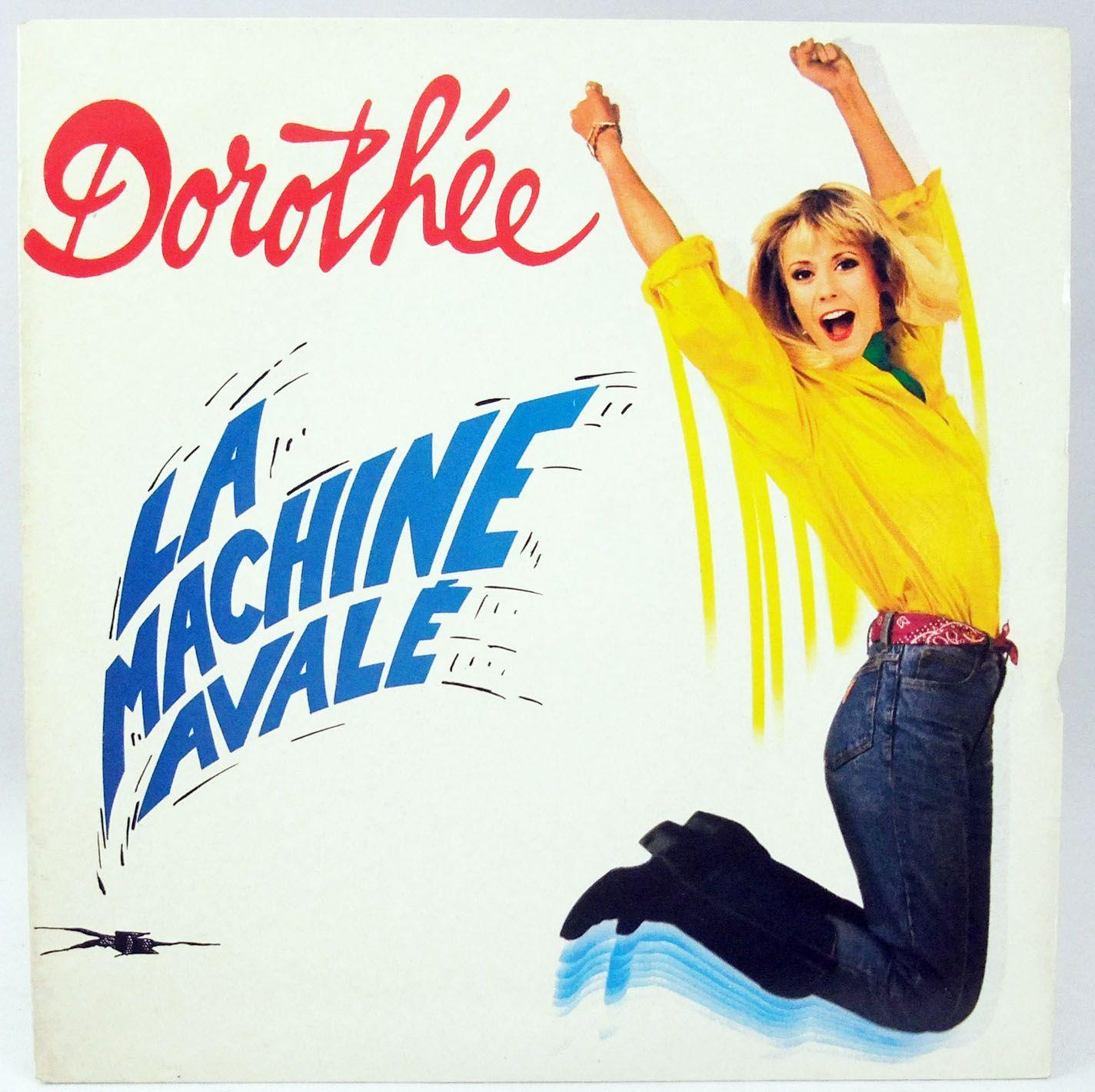 Dorothée - La Machine Avalé - Disque 45Tours - AB Productions 1989