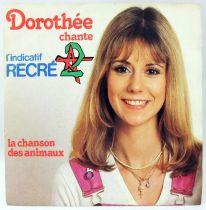 Dorothée chante l\'indicatif Récré A2 - Disque 45Tours - CBS 1980