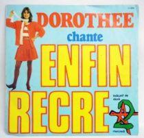 Dorothée sings Enfin Récré A2 - Mini-LP Record - AB Prod. 1982