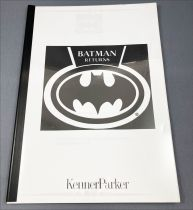 Dossier de Presse Kenner Parker Salon du Jouet 1992 - Batman Returns
