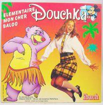 Douchka - Disque 45Tours - Elémentaire mon cher Baloo & Bambi - Walt Disney Prod. 1984