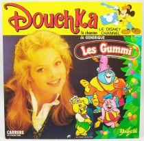 Douchka - Disque 45Tours - Les Gummi & Wuzzles - Walt Disney Prod. 1986