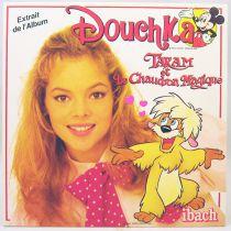 Douchka - Disque 45Tours - Taram et le Chaudron Magique - Walt Disney Prod. 1985