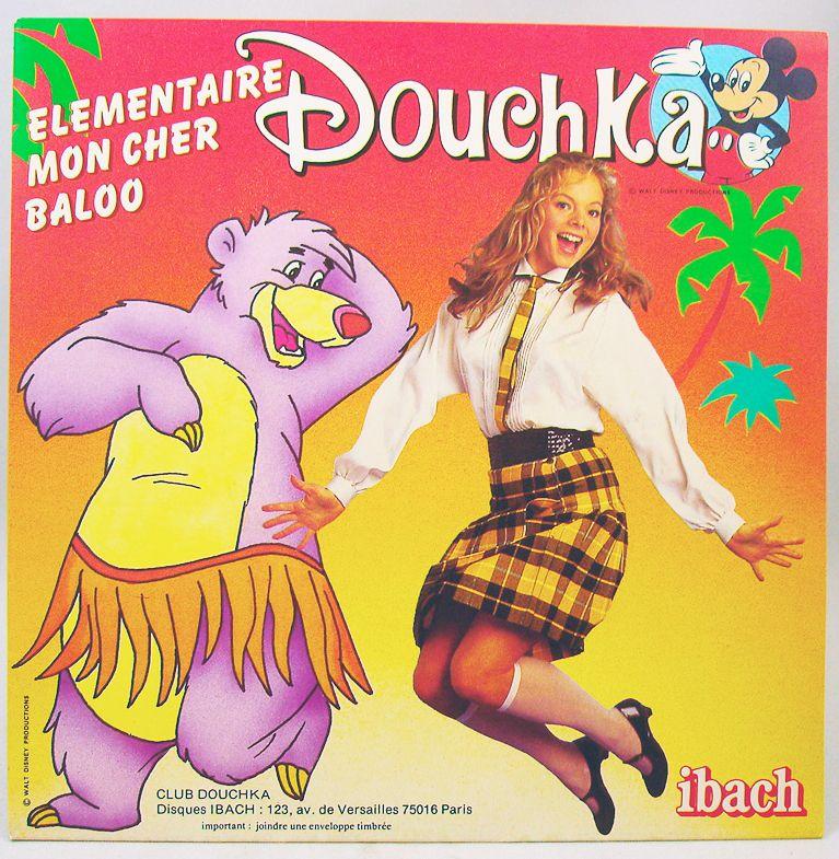 Douchka - Vinyl Record - Elementaire mon cher Baloo & Bambi - Walt Disney Prod. 1984