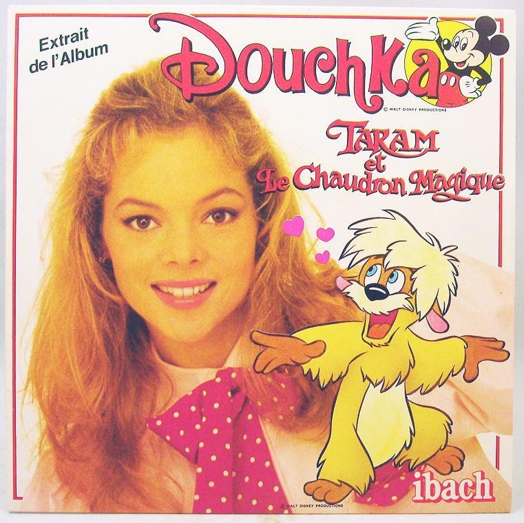 Douchka - Vinyl Record - The Black Cauldron - Walt Disney Prod. 1985